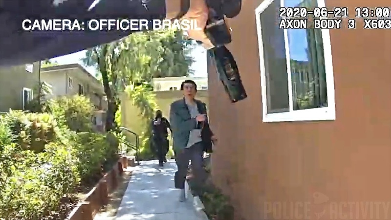 Bodycam Shows Police Shooting Man Who Charged at Officer Armed With a Large Knife