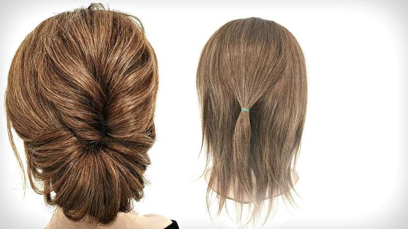10 Самых Быстрых Причесок из Резинок 10 Fastest Hairstyles from rubber bands