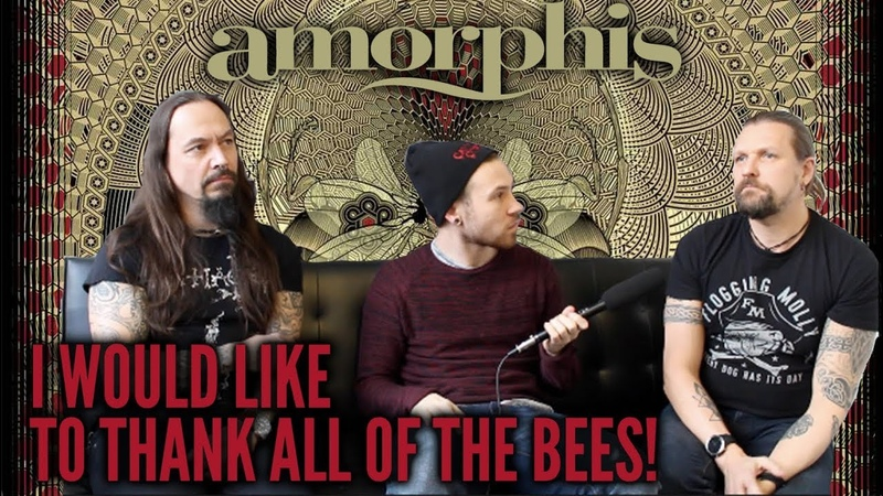 Amorphis' Esa Holopainen and Tomi Joutsen Talk Queen of Time - The Metal Tris