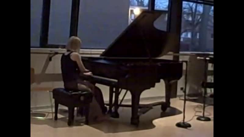 Philip Glass - Wichita Vortex Sutra (performed by Kelly Moran)