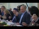 Вы приглашали я приехал в Дагестане Путин сдержал обещание 1999 года и выпил стопку водки