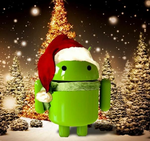 Скачать Новогодние HD Обои На Андроид 7