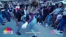 Yoannis Tamayo Jessica Patella Salsa Dancing in Soborny @ Open Air of Respublika Days 9 05 05 19