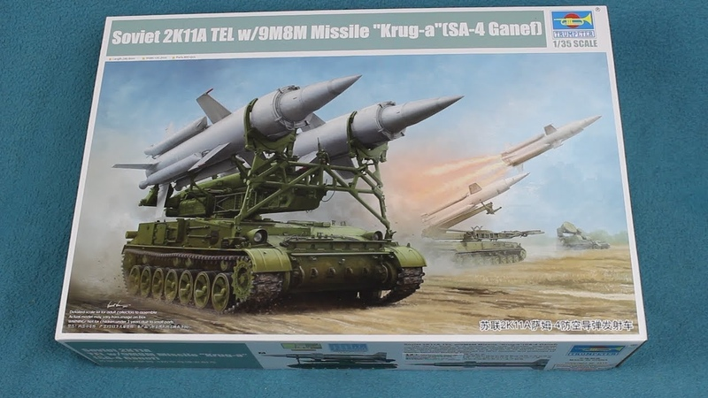 Trumpeter SA 4 Ganef TEL In Box Review