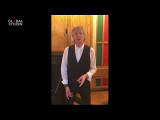 Paul McCartney performs Lady Madonna  One World  Together at Home