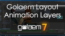 Golaem 7: Layout Animation Layers