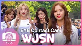 [NEWS] 190705 WJSN on the way to Music Bank EYE CONTACT CAM @ Cosmic Girls