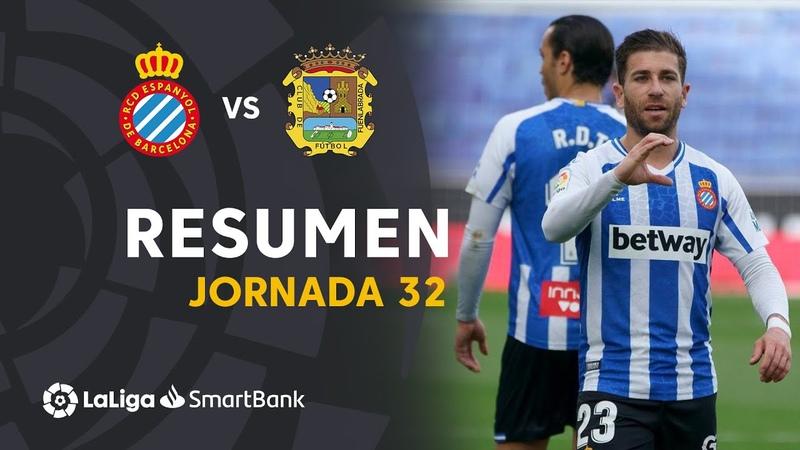 Resumen de RCD Espanyol vs CF Fuenlabrada 4 0
