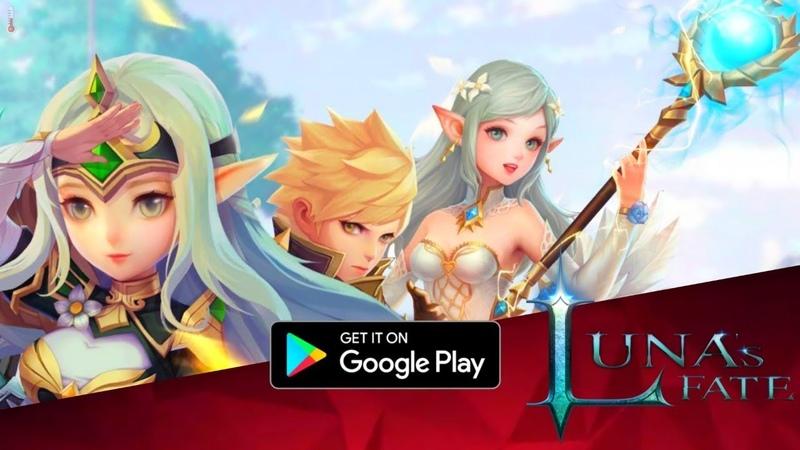 Luna's Fate МилАшна и Вся в Себе ПЕРВЫЙ ВЗГЛЯД MMORPG on Android