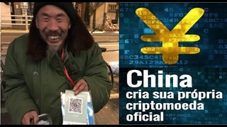 Digital Renminbi | China Cria Sua Própria Criptomoeda | Acaba com Dinheiro de Físico | Home Office