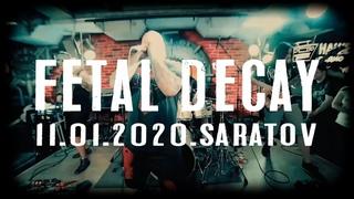 "FETAL DECAY ""Edge Of Fear"" ( live in Saratov on SIM fest 2020 ) ."