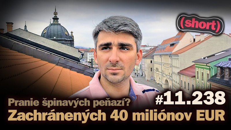 GINN zachránil 40 miliónov EUR Pranie špinavých peńazí 11 238