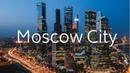 Moscow City Russia Drone 4K Москва Сити Россия