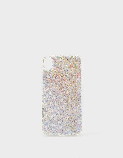 Чехол для iPhone XR с блестками
