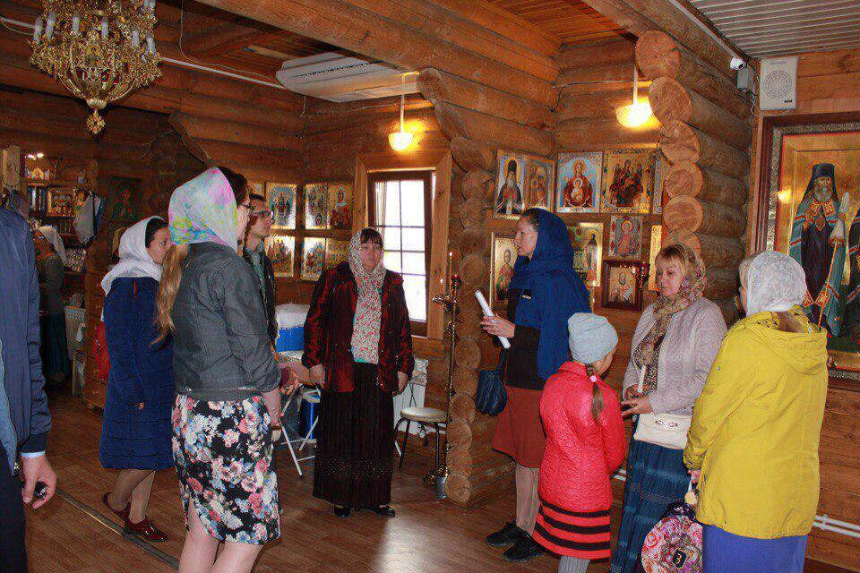 Очередную тематическую экскурсию провели в храме на Покровской