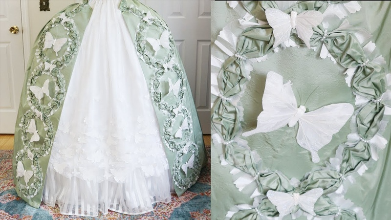 Making a Mint and White Rococo Costume | Part Two