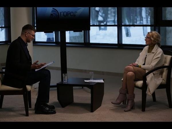 Интервью ректора РГИСИ Н.В. Пахомовой. Телеканал «Город»