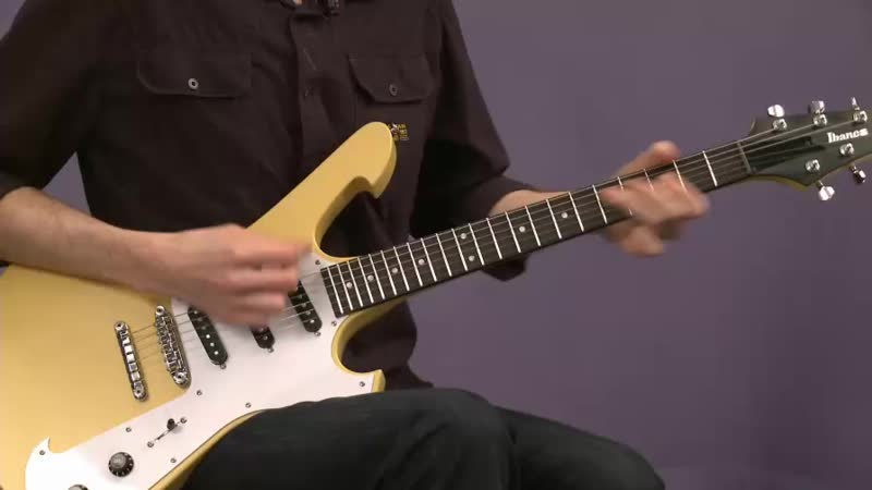 Paul Gilbert ArtistWorks Lessons - Slow Motion Isolation - The Pinky Stretch