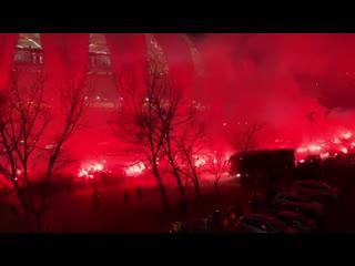 1хСтавка: Фанаты  Интернасьонала встречают своих футболистов