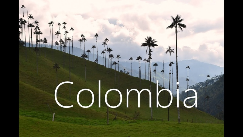 COLOMBIA in 4k | 2017 | Backpacking