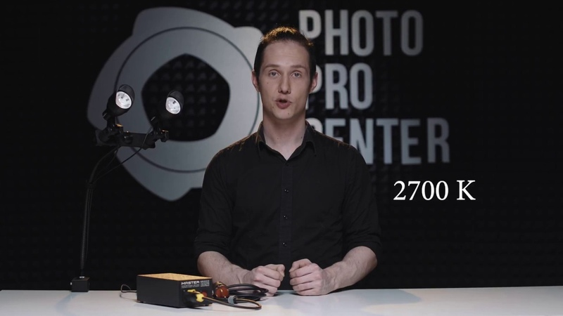 Комплект видеосвета LED Master RENOVA 2D LED KIT