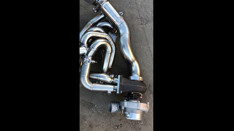 BMW E92 turbo kit