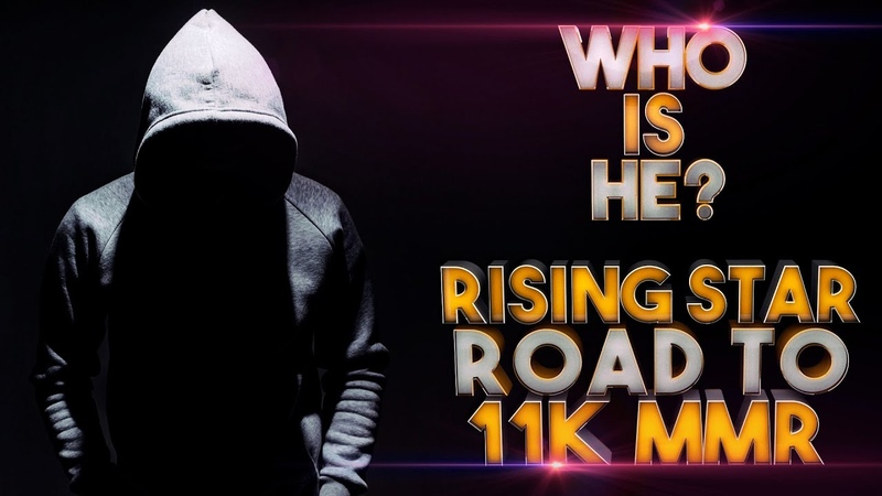 WHO IS THIS GUY! NEW RISING STAR - Road to 11k MMR - Dota 2 NEW TOP 1 MMR Player