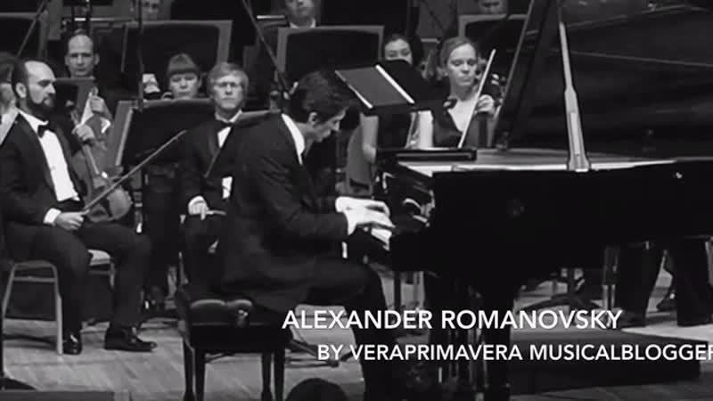 Alexander Romanovsky 🎹 Александр Романовский BIS Bach Siloti🎼Prelude in G minor