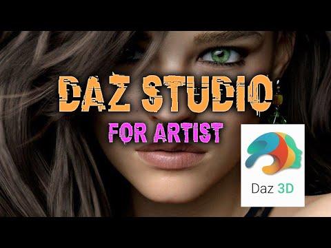 DAZ STUDIO для Художников. Part 1by Alex Crow