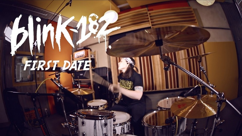 Blink 182 First Date drum cover by Vicky Fates