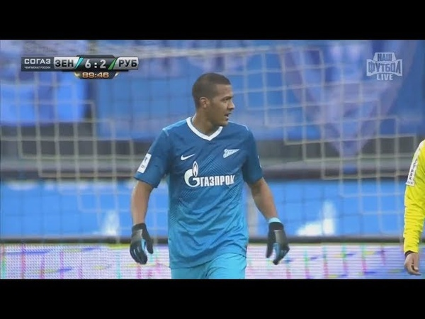 (HD) Зенит 6-2 Рубин / 06.04.2014 / Премьер-Лига