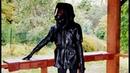 NECROTRANS | Кожаный Черный Плащ Жилетка | Дизайнерская жилетка-плащ из натуральной кожи