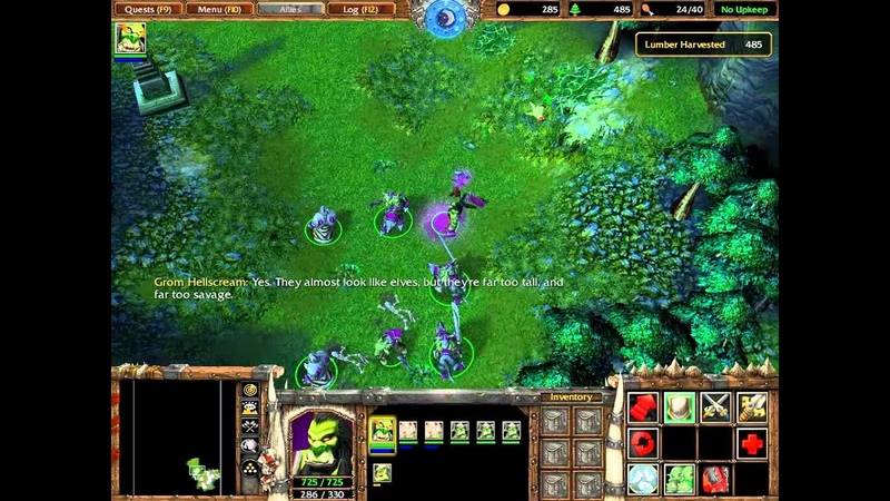 PC Longplay [172] WarCraft III Reign of Chaos (part 06 of 10)