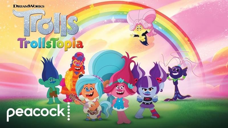 DreamWorks Trolls TrollsTopia Official Trailer Peacock