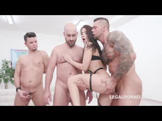 In Control, Nicole Black runs the show with Balls Deep Anal, DAP, Gapes, Talking and Cumshot with Orgasm