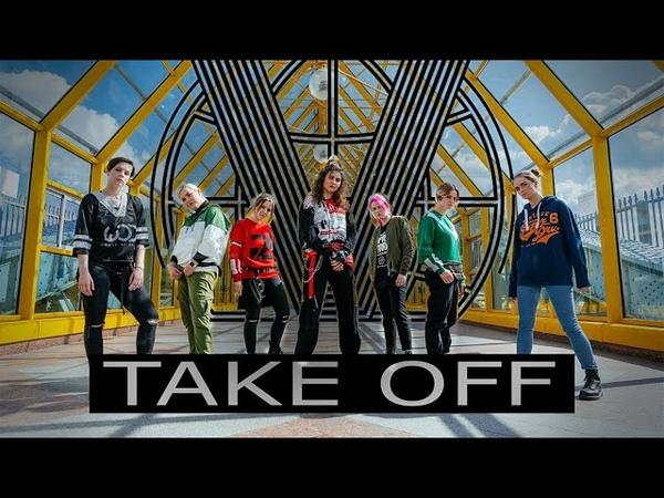 [K-POP IN PUBLIC RUSSIA] WayV 威神V '无翼而飞 (Take Off) - SC.Ent