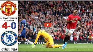 Manchester United vs Chelsea 4-0 Ligi Kuu ya Uingereza MAGOLI YOTE Highlights & All Goals 12/08/2019