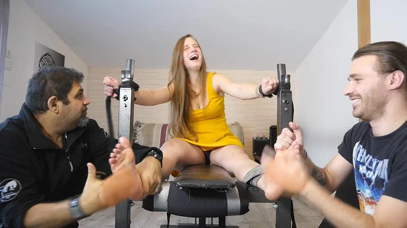 FrenchTickling Ticklers Have So Much Fun With Syanas Ultra Ticklish Body