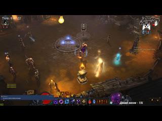 Путь к 10 000-ому парагону Diablo III стрим День 6