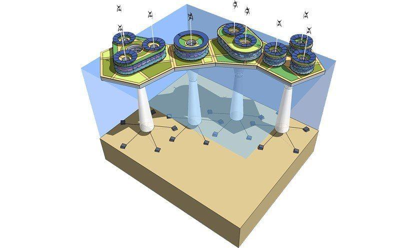 Первый автономный плавучий город возведут у берегов Таити к 2020 году/ Институт систендинга
