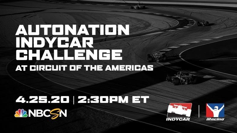 IndyCar * IndyCar iRacing Challenge * Запись гонки на трассе COTA