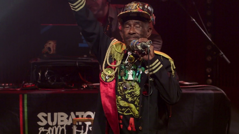 Lee Scratch Perry Subatomic Sound System: 'Sun is Shining' live | Loop