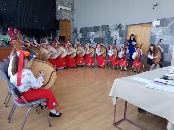 Ансамбль бандуристов Журавочка конкурс Перші проліски