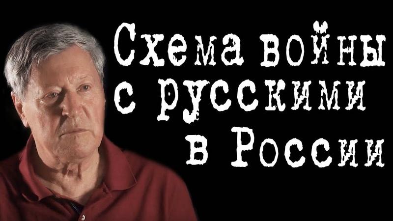 Схема войны с русскими в России ВалентинЗанин