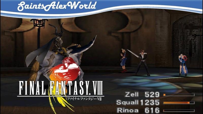 23 Final Fantasy VIII PSX Босс Один и мы отправляемся в Баламб