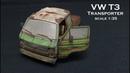 Rosteffekte VW T3 Transporter scale 1 35 inklusive Nova3D Resin Printer