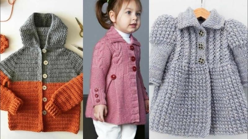 Beautiful And Stylish Hand Crochet Baby Coat Designs