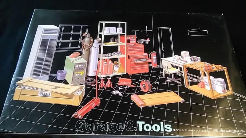 Обзор Garage tools Fujimi 1 24