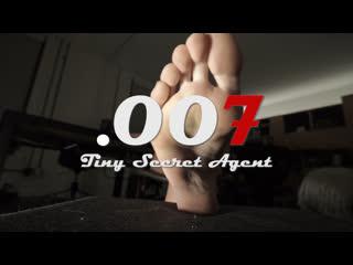 "Giantess Madeline | ""Tiny Secret Agent (.007)"" | Butt & Foot Crush (Trailer)"