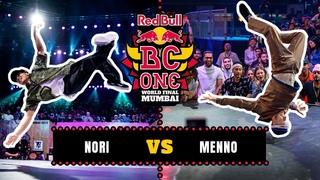 B-Boy Nori vs B-Boy Menno | Top 16 | Red Bull BC One World Final Mumbai 2019